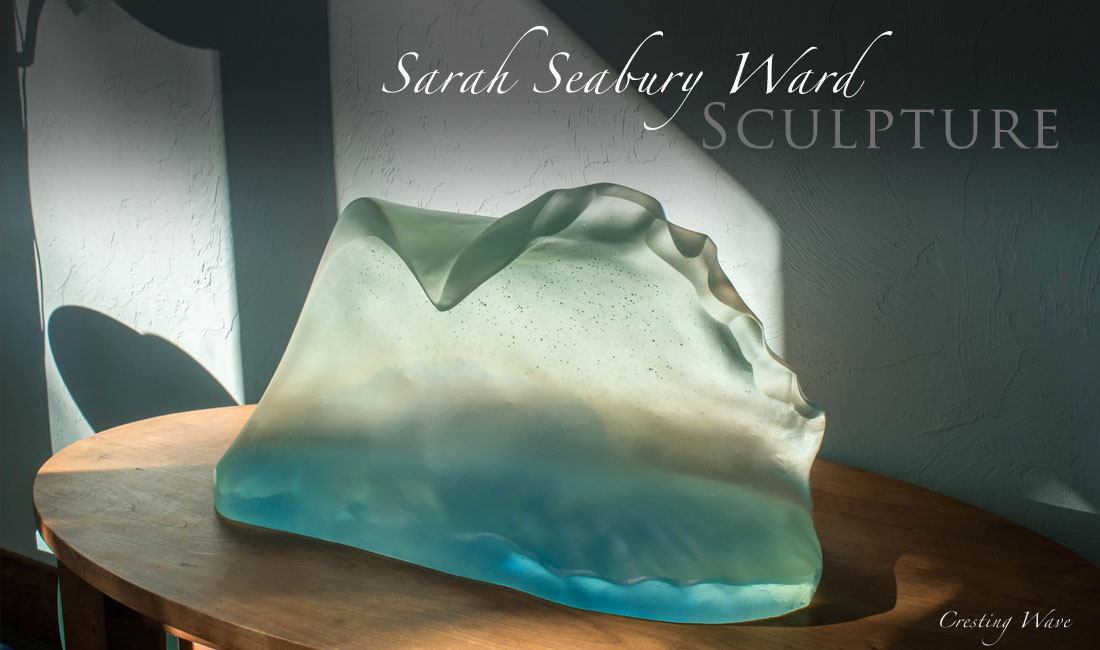 Sarah Seabury Ward Sculpture, Cresting Wave